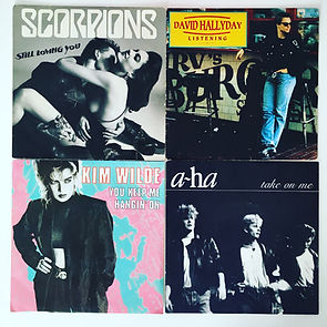 scorpions still loving you david hallyday a-ha kim wilde