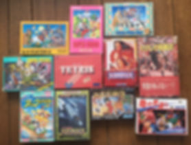 Nintendo Famicom tetris super pitfall super mario bros willow takeshi no challenge castle wanpaku ducktales duck tales