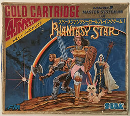 Phantasy Star SEGA MARK III Japan