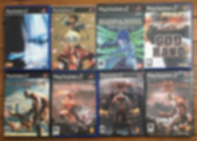 ps2 playstation 2 god of war galerians god hand