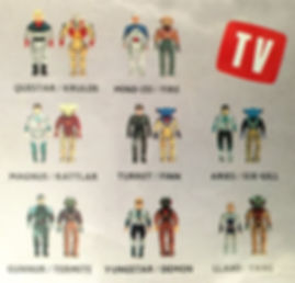 Dino Riders serie 1 ideal pack blister