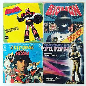 Vinyl Bioman Goldorak Spectreman