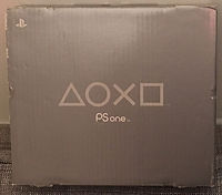 Console PSone boite PAL europe