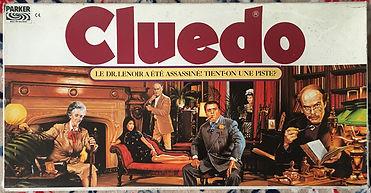Parker Cluedo 1982 France