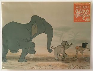 Jungle book livre de la jungle lobby card