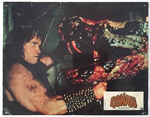 Conan le Barbare Barbarian Lobby Card