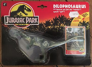 Jurassic Park DILOPHOSAURUS JP02 France