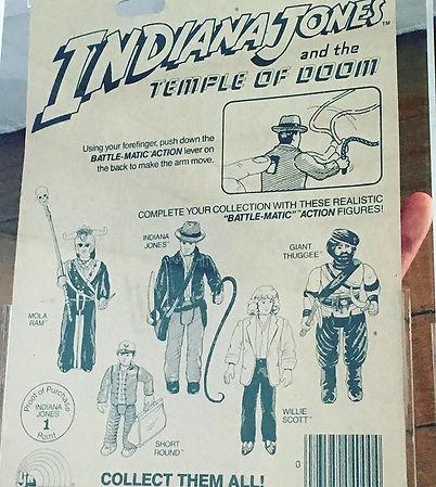 Indiana Jones LJN Temple of Doom AFA MOC