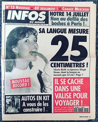 infos du monde 1994 n°13