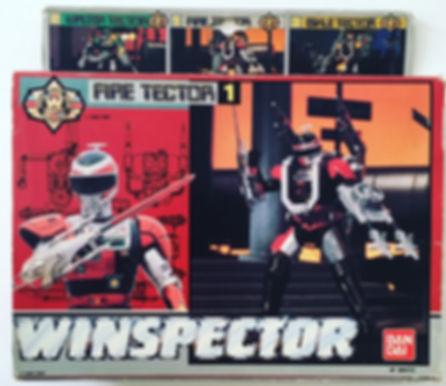 Winspector tokkei fire tector bandai france 1990