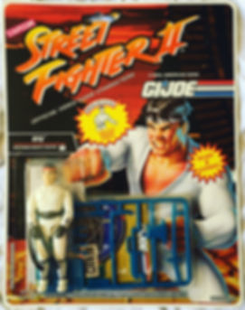street fighter II g.i. joe ryu moc