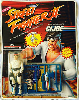 street fighter II g.i. joe ryu moc