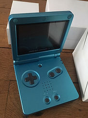 Nintendo GameBoy Advance GBA limited Japan Mana Blue