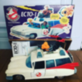 sos fantomes real ghostbusters ecto-1 voiture jouet - FR boxed