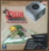 Nintendo GameCube pack Zelda Wnidwaker silver