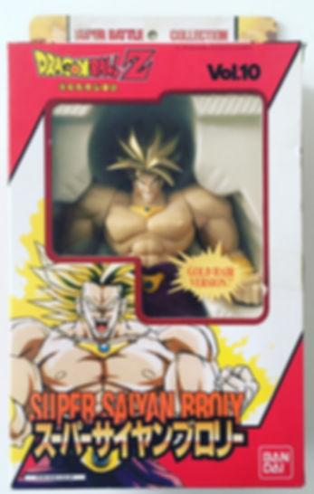 Super Saiyan BROLY Dragon Ball Z Super Battle Collection vol. 10 GOLD hair bandai 1998 japan new