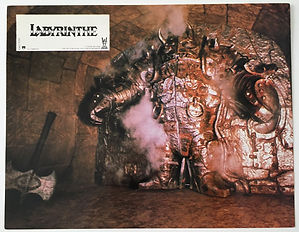 Labyrinthe lobby card