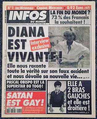 infos du monde 1998 n°1