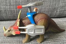 dino riders série 1 IDEAL france Styracosaure