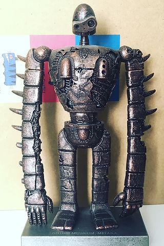 laputa statue figure metal mitaka ghibli exclusive limtied