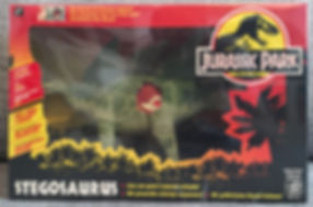 jurassic park stegosaurus france 1993
