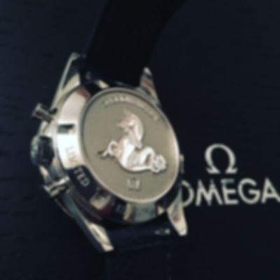 Omega Speedmaster CK2998 limited moonwatch back
