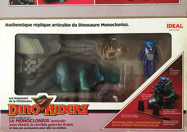 Dino Riders Monoclonius ideal france