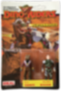 Dino Riders serie 1 ideal termite boldar pack blister