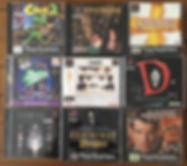 PS1 jeux collection D