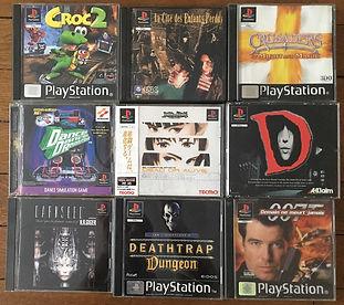 PS1 jeux collection D