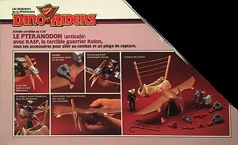Dino Riders série 1 IDEAL france Ptéranodon