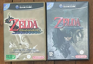 Nintendo GameCube Zelda the legend of the Windwaker Twilight princess
