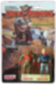 Dino Riders serie 1 ideal krulos Questar pack blister