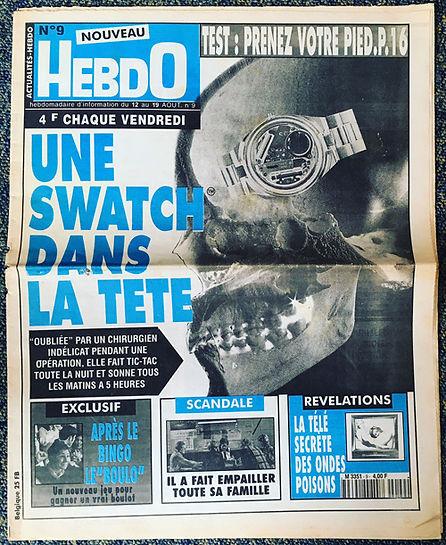 nouveau hebdo 1995 n°9
