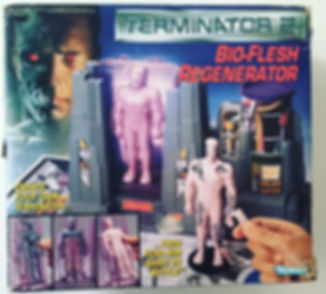 Build your terminator bio-flesh regenerator Terminator 2 kenner USA construit ton terminator
