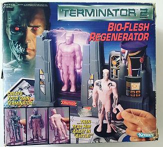 Build your terminator bio-flesh regenerator Terminator 2 kenner USA construit ton terminator