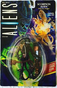Aliens - Scorpion Alien by Kenner sealed