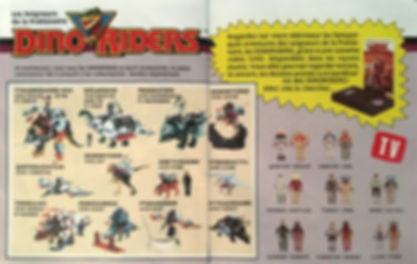 Dino Riders IDEAL série 1