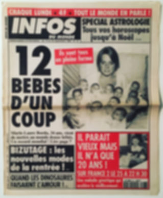 infos du monde 1994 n°27