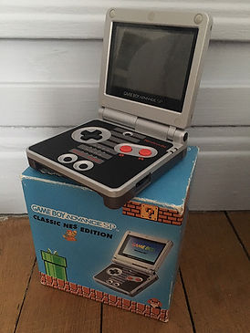 Nintendo GBA Classic NES Edition EURO