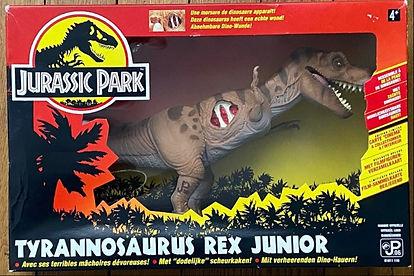 Jurassic Park Tyrannosaurus rex junior t-rex toys