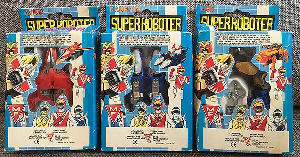 Liveman Super Roboter Bioman 3 MF MARKI