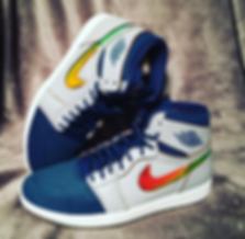 Air Jordan Retro High Rainbow