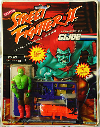 G.I. joe street fighter II blanka
