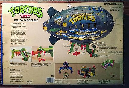 TMNT Tortues Ninja Ballon Dirigeable playmates 1991 NEUF
