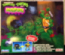 TMNT Tortues Ninja Mutations Michaelangelo IDEAL FR Neuf