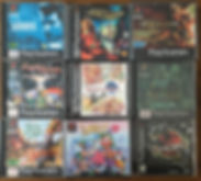 PS1 jeux collection legend of mana lomax dragoon foresia