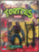 TMNT Tortues Ninja foot soldier 10 back playmates 1990 NEUF MOC