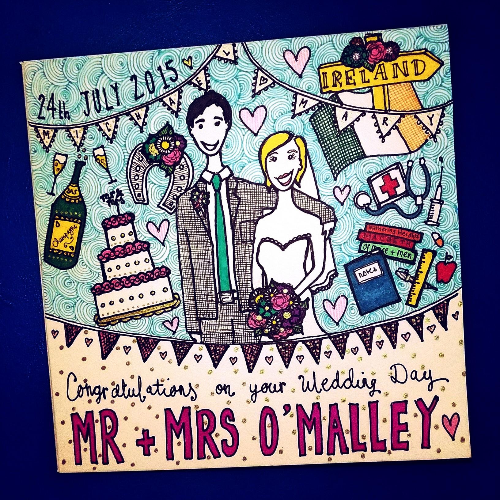 Bespoke Wedding Card