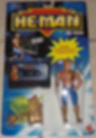 He-Man série 2 + cassette MATTEL France